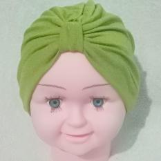Turban Bayi Anak ikat polos hijab kerudung aksesories headband