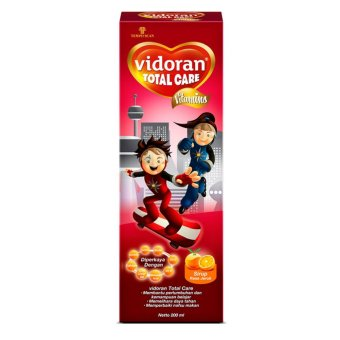 Vidoran Total Care Syrup Vitamin Anak 200 ml