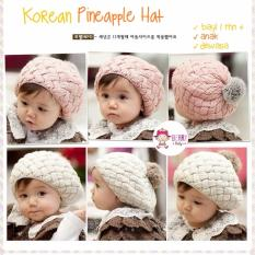 YooBerry Korean Pineapple Hat Topi Rajut Bayi & Anak