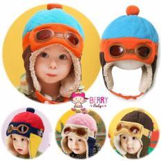 YooBerry Topi Pilot Korea Bayi Anak