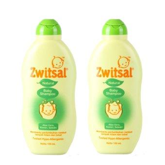 Zwitsal Baby Shampoo Natural 100ml - 2 Pcs