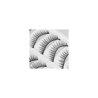 10 Pair Natural or tebal palsu False Eyelashes Eye LASH