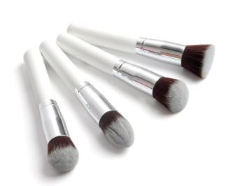 10 pcs Professional Makeup Brush Set Maquiagem Beauty FoundationPowder Eyeshadow Cosmetics Make Up .