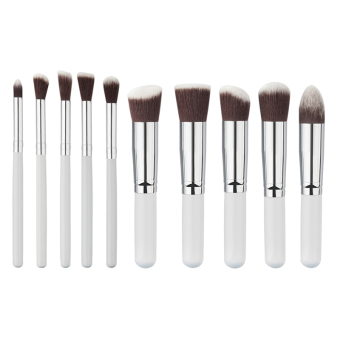 10Pcs Mini Cosmetic Makeup Tool Brushes Set Powder Eyeshadow Blush Brush Cosmetics Kit - Intl