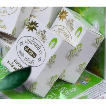 12pc Sabun beras susu Thailand - K brother soap original