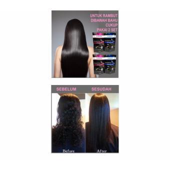2 Pack-Y2000 SELF HAIR STRAIGHTENING GEL - SMOOTHING - REBONDING   2ec13a112c