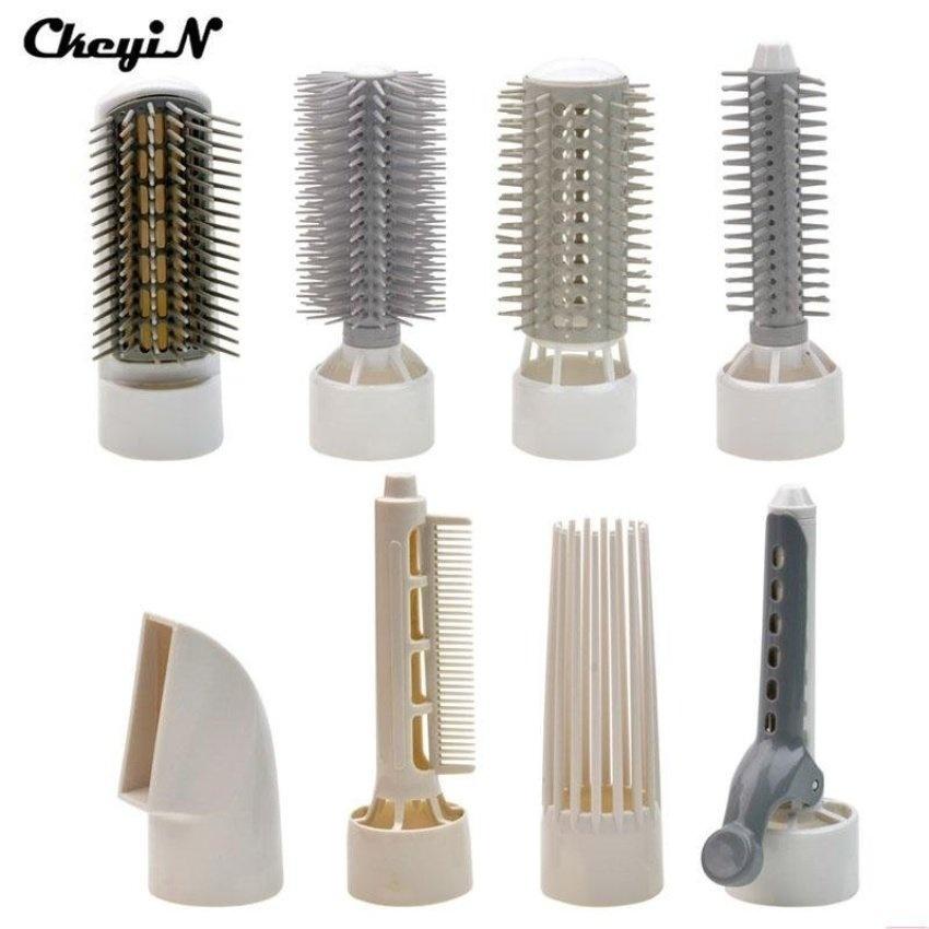 Penawaran Bagus 8 In 1 Professional Electric Hair Dryer Hairdryer Hair Straightener/ Blow Dryer /Hair Curler /Comb Brush Hair Styling Tools(OVERSEAS) - intl ...