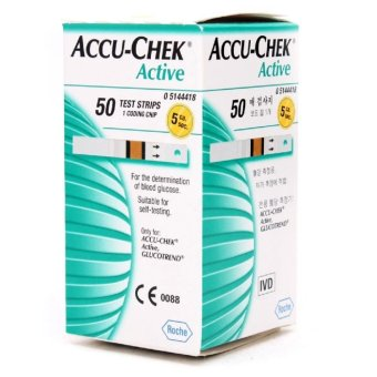 Accu Chek Active Strip isi 50