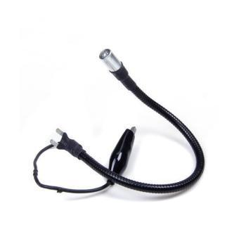 Adjustable Tattoo Worklight Machine Mounted White LED Light (Black)