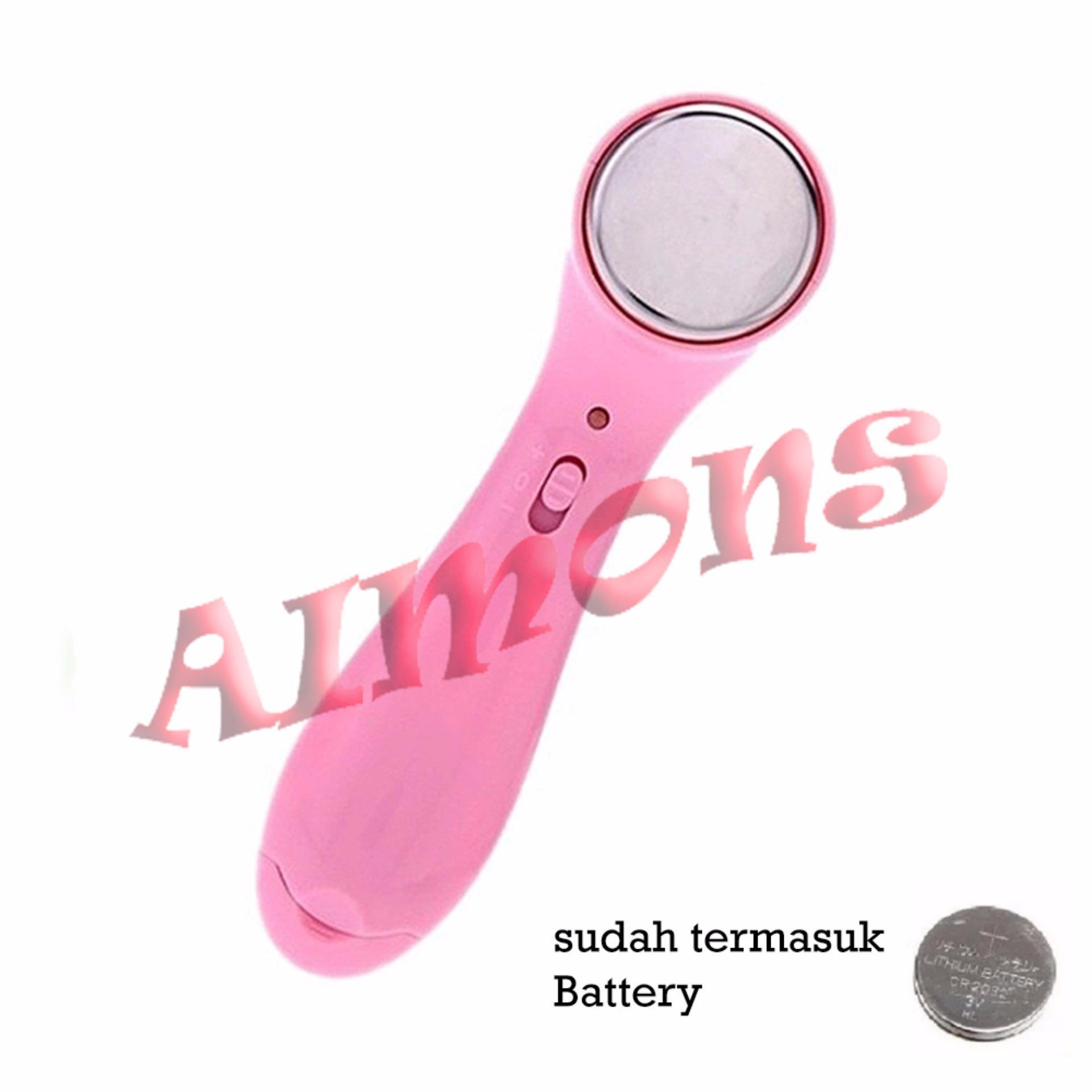 S2 Kn Setrika Wajah Ionic Pink Beli Harga Murah Ion Massager Mawar88shop Ultrasonic Face Cleanse Source