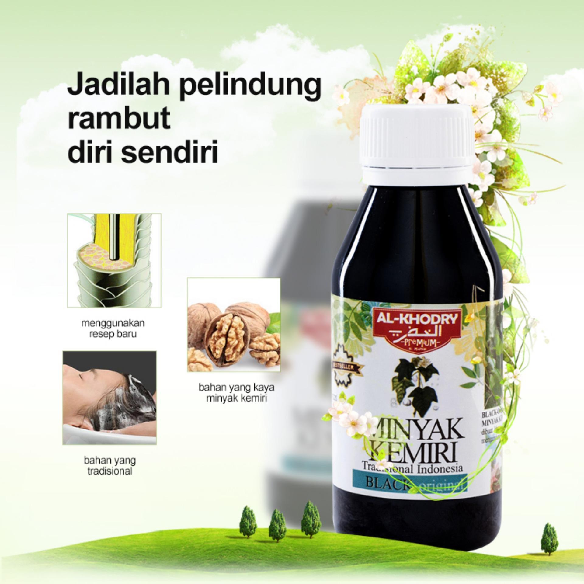 Price Checker Al Khodry Minyak Kemiri Penumbuh Rambut 125 Ml 2 Wak Doyok Sampel 125ml Original Botol