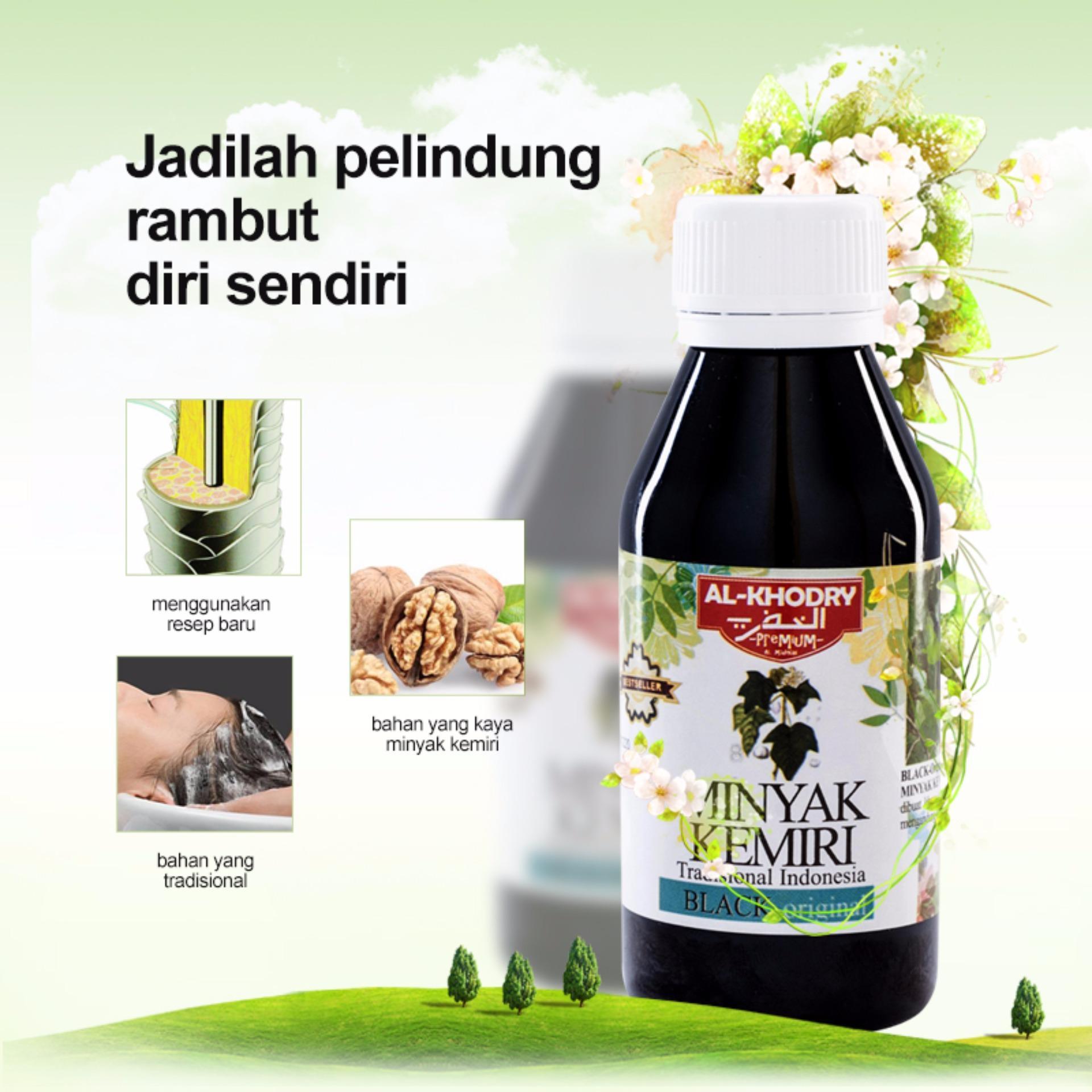 Paket 2 Pcs Source Harga Spesifikasi Minyak Kemiri Al Khodry Minyak Penumbuh .
