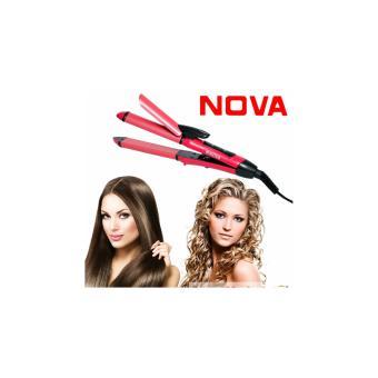 Harga Alat Catok Super Nova Pelurus dan Keriting Rambut 2 in 1 Hair Beauty Murah