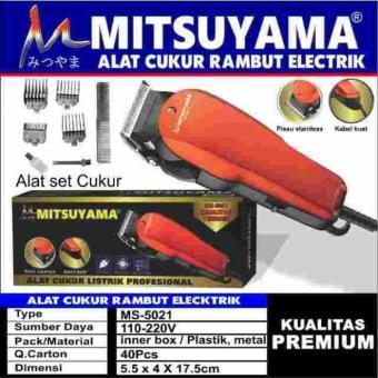 Harga Alat Cukur Rambut Elektrik Mitsuyama Murah