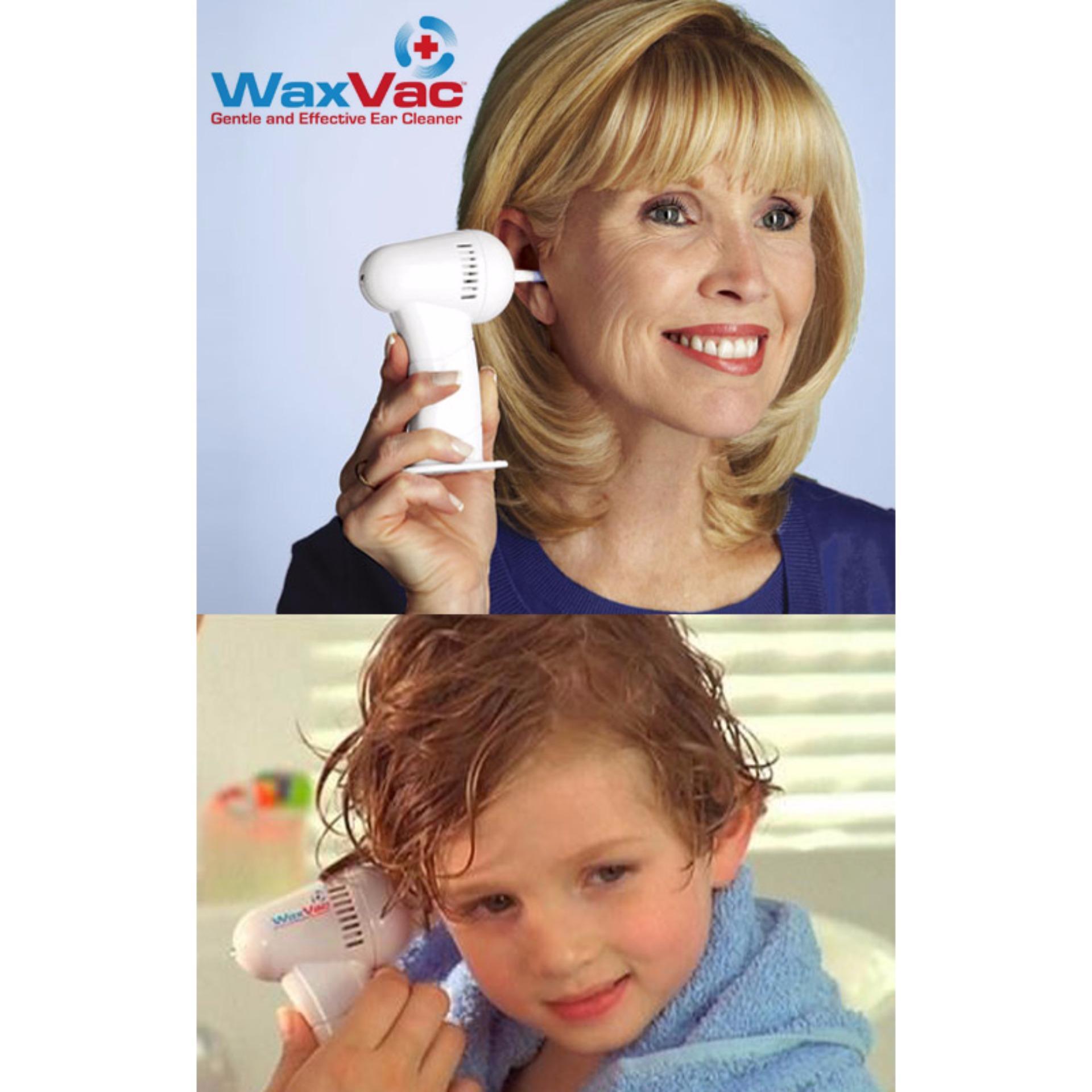 Anggaran Terbaik Alat Pembersih Telinga Wax Vac Praktis Aman Dan Electric Ear Vacuum Removal Whit Tidak Menyebabkan Luka