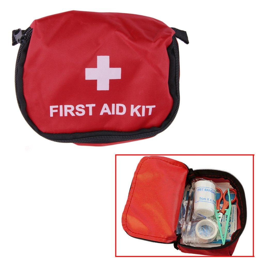 Anggaran Terbaik Allwin P3k 07 Liter Merah Berkemah Kelangsungan Kotak First Aid Kit Acr Perban Darurat Obat Tahan Air Tas International