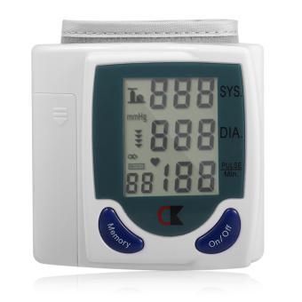 Allwin Tangan Digital LCD Layar Monitor Tekanan Darah