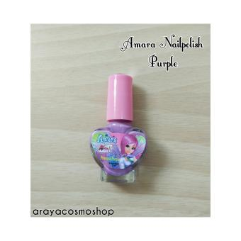 Amara Nail Polish For Kids Princess Purple - 2