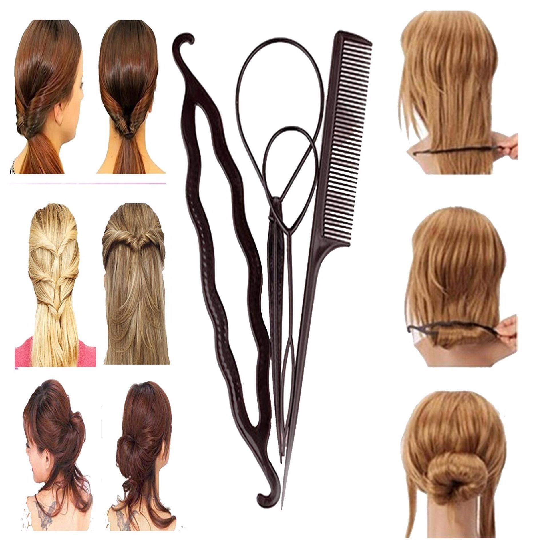 ... Anneui - 4in1 Topsy Hair Styler - Alat Styling Rambut Set Isi 4 ... 9afb507676