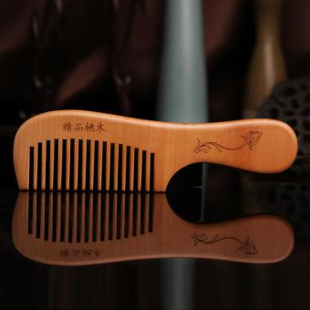 Harga Anti-statis kayu alami rambut kecil sisir mahoni sisir Murah