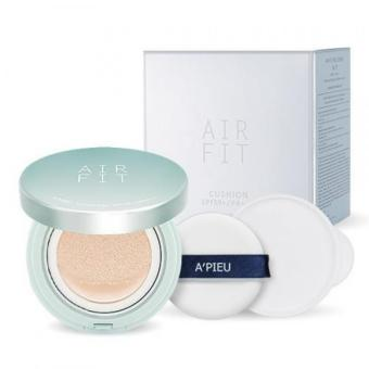 APIEU Air Fit Cushion SPF50/PA++ 21 Natural Beige SET ( FREE REFILL)