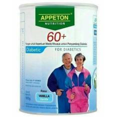 Appeton Diabetic 60+ Rasa Vanilla Nutrisi Untuk Diabetes - 900gr