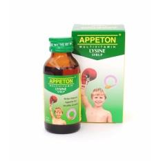appeton lysine syrup 60ml - 1pcs