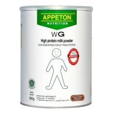 Appeton Weight Gain Adult Coklat - 900 gr, susu tinggi protein rasa coklat, susu penambah berat badan dewasa -1 pcs