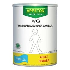 Appeton Weight Gain Susu Rasa Vanilla Dewasa - 900 gram Adults Vanila