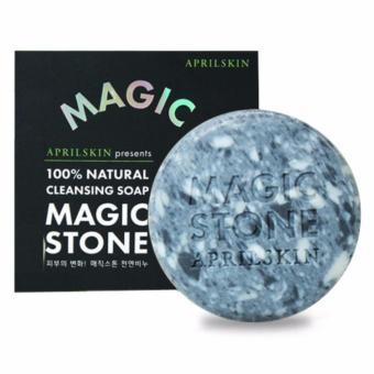April Skin Magic Stone Cleansing Soap 100gram - Original