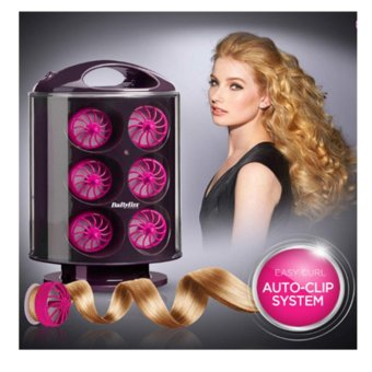 Harga Babyliss Easy Curl RS100K/Hair Rollers/1722mm/Automatic/Haircurler/Hair styler/Hair Iron Producec in Korea – intl Murah
