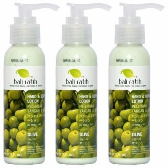 Bali Ratih - Paket Body Lotion 110mL 3pcs - Olive