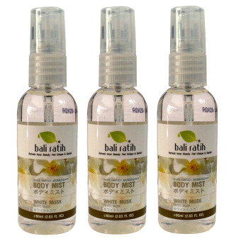Bali Ratih - Paket Body Mist White Musk 3pcs - 60ml