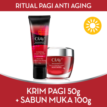 [BEST OFFER] Olay Ritual Malam Anti-Aging FREE Cleanser