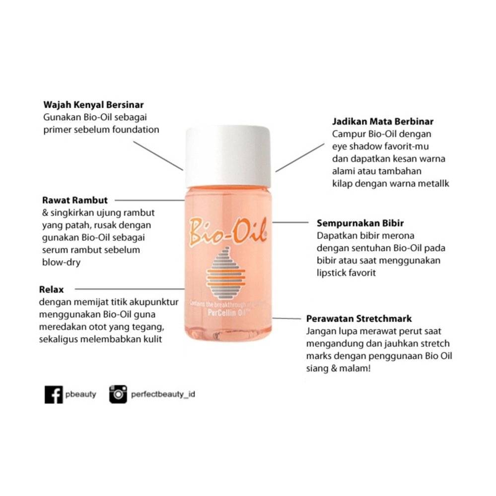 Price Checker Bio Oil 60ml Menghilangkan Bekas Luka Dan Perawatan Kulit Stretch Mark 125ml Streachmark
