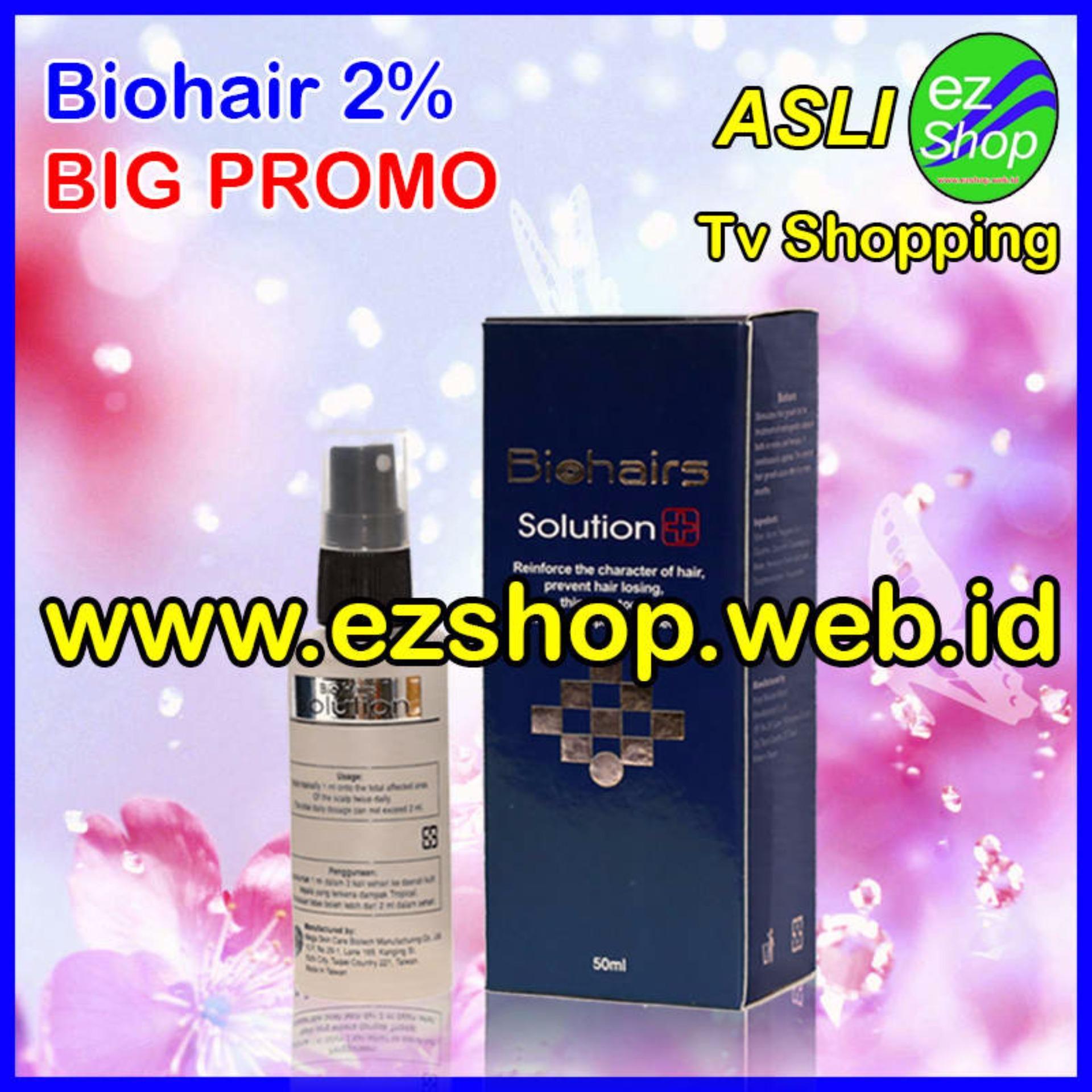 Flash Sale Biohairs Solution 2% - Tonic / Serum / Obat Penumbuh Rambut Alami (Biohair / Bio Hair / Hairs Shampoo) - Jaminan Asli EzShop - Ez Shop Tv Home ...