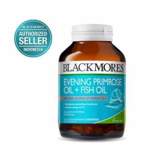 Blackmores Evening Primrose Oil + Fish Oil BPOM Kalbe 100's - EPO, Omega 3, Omega 6, Minyak Ikan, Obat Nyeri Sendi, Kesemutan, Obat Kolestrol, Diabetes, Suplemen Menopause
