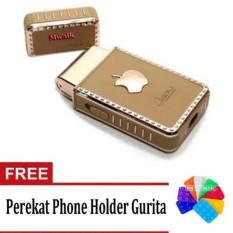 Boli Rechargeable Travel Shaver Alat cukur Kumis dan Jenggot + Perekat Phone Holder Gurita