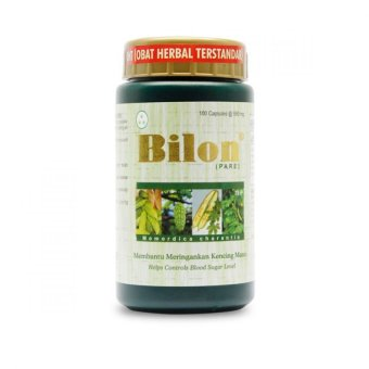 Borobudur Herbal Bilon - Untuk Penderita Diabetes Mellitus - 100Kapsul