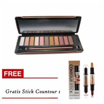 Harga Bos Online N5 Pallete Eyeshadow Gratis Stick Concealer Contour 2in1