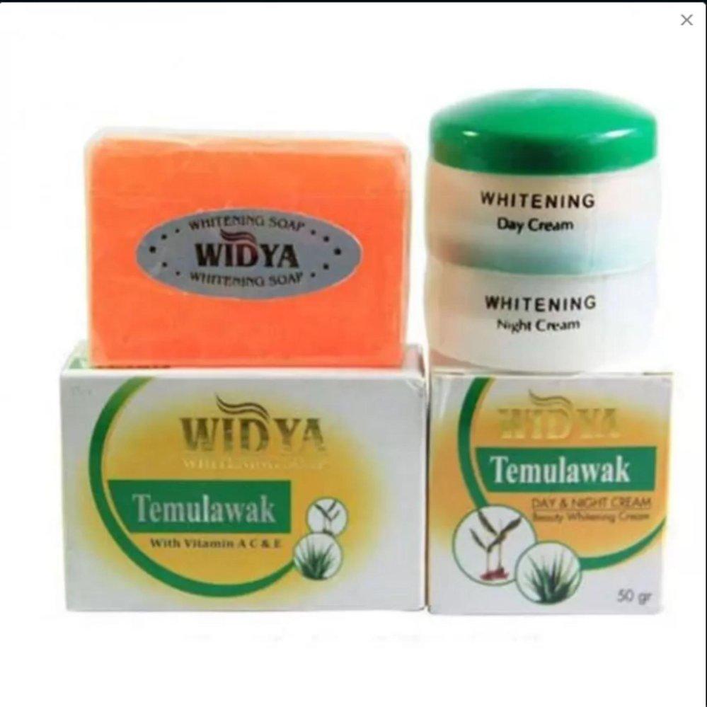 Flash Sale [BPOM] Paket Cream Widya 3 in 1 BPOM Temulawak Whitening Cream (3in1) Original