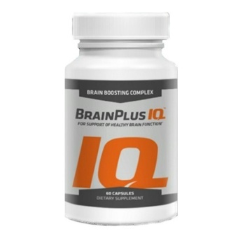 Brainplus IQ Brain Smart Suplemen Otak Original USA