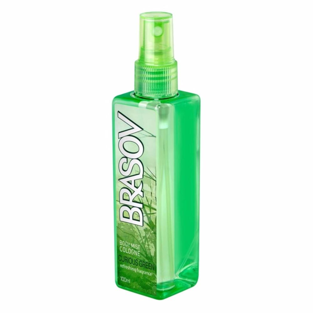 BRASOV Original Body Mist XX-CT-671375 Curious Green Parfum Spray .