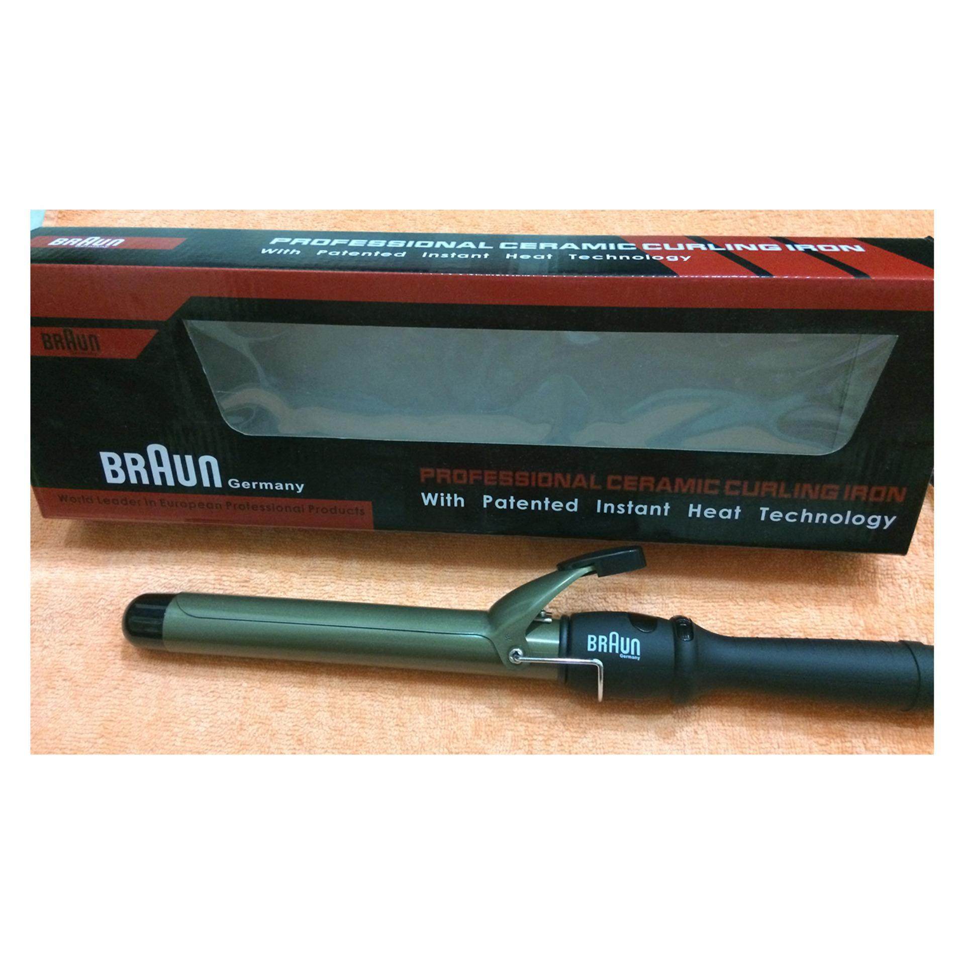 Braun Professional Ceramic Premium Curling Iron