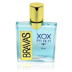 BRAVAS Original Eau De Parfum XX-CT-671498 XOX Man 100 ml Perfume Cologne - Biru