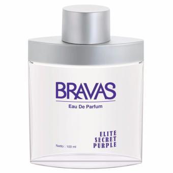 BRAVAS Original Elite Perfume XX-CT-671351 Eau De Parfum 100 ML - Ungu
