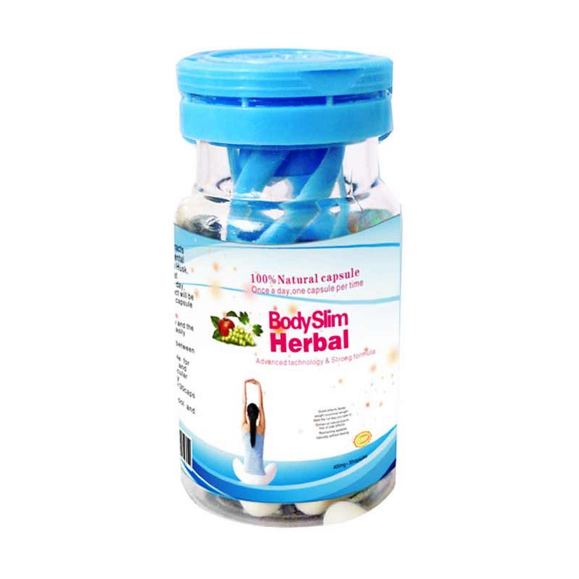 ... BSH Capsul Body Slim Herbal Suplemen - Putih [Alami Dan Original] ...