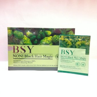 BSY Noni Hair Magic Cat Rambut 1 Box - 20 Pcs