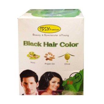 Harga BSY Premium Black Hair Color – Shampoo, Cat Rambut, Semir Rambut,Menutup Uban, Menghitamkan Rambut Murah