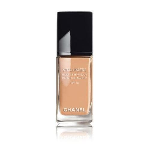chanel vitalumiere. chanel vitalumiere satin smoothing makeup spf 15 foundation - 2.5ml 2 pcs | lazada indonesia